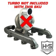 H&S Motorsports 2011-2015 Ford Power Stroke 6.7L Single Turbo Kit - NO Turbo Included