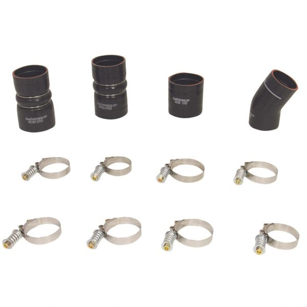 BD Diesel Intercooler Hose & Clamp Kit for 7.3, 6.0, or 6.4