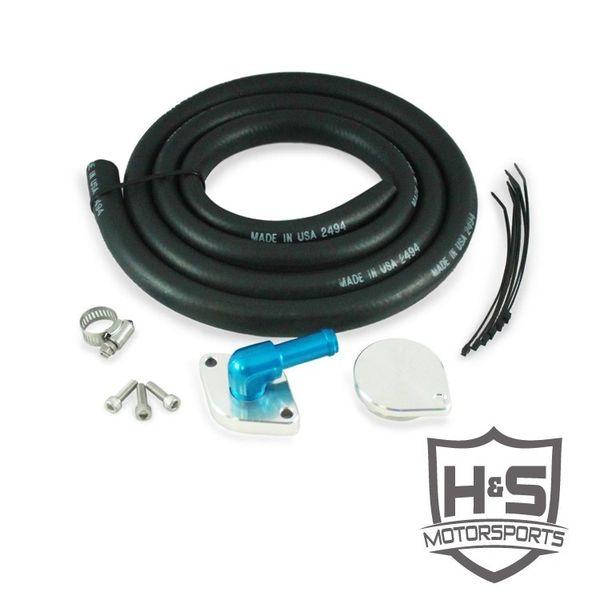 H&S Motorsports 2011-2015 Ford 6.7L Crankcase Ventilation Kit