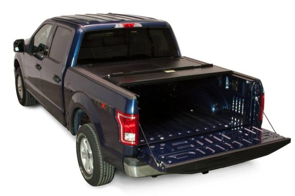BAK Industries 2008-2018 Ford F-250/F-350 Hard Folding Tonneau Cover BAKFLIP FIBERMAX - Short Bed