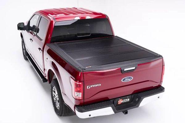 BAK Industries 1999-2018 Ford F-250/F-350 Hard Folding Tonneau Cover BAKFLIP F1 - Short Bed