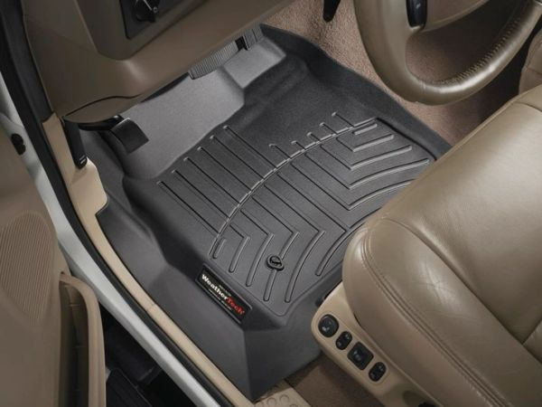 WeatherTech Front FloorLiner F250/F350/F450/F550 1999-2007 and Excursion 2000-2005 ALL Cabs w/o 4x4 Floor Shifter
