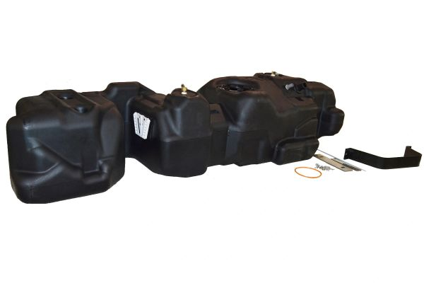 Titan Fuel Tanks 2017-18 FORD CREW CAB, SHORT BED - GENERATION 6