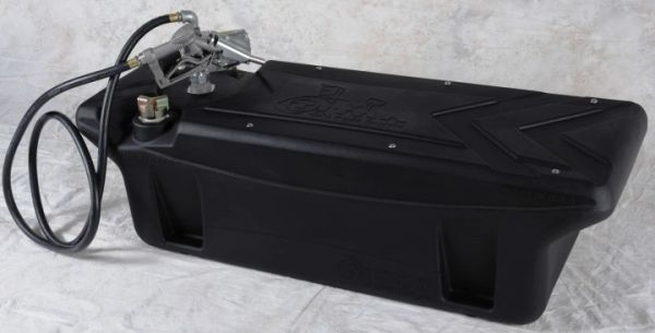 Titan Fuel Tanks 60 Gallon*, In-Bed, Diesel Transfer Tank with 12 Volt Pump and Nozzle F250-450
