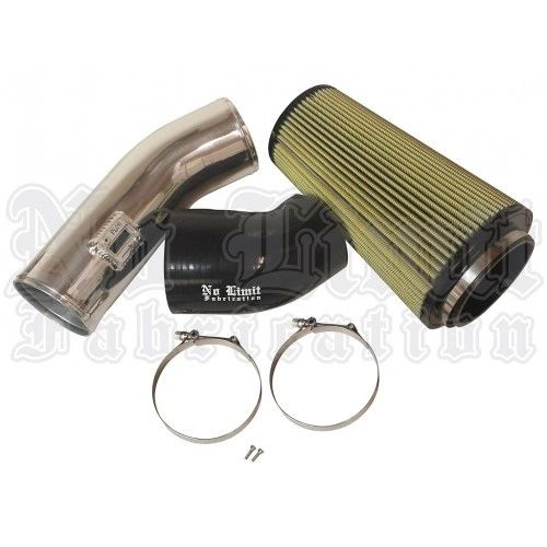 No Limit Stage 2 Cold Air Intake with PG7 Filter for 2011-2016 6.7 Raw Finish