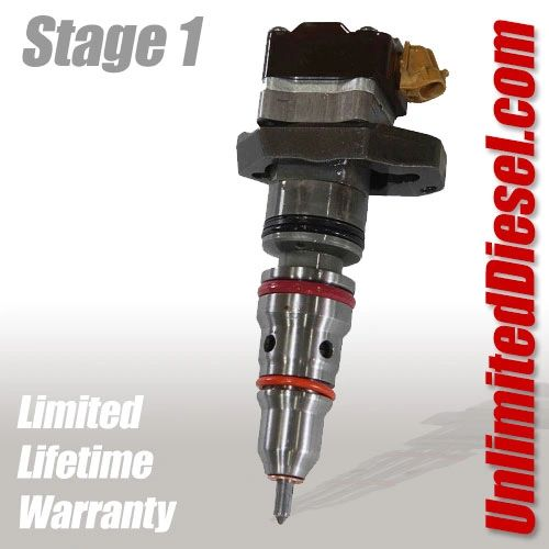 Powerstroke Fuel Injectors - Stage 1 by Unlimited Diesel