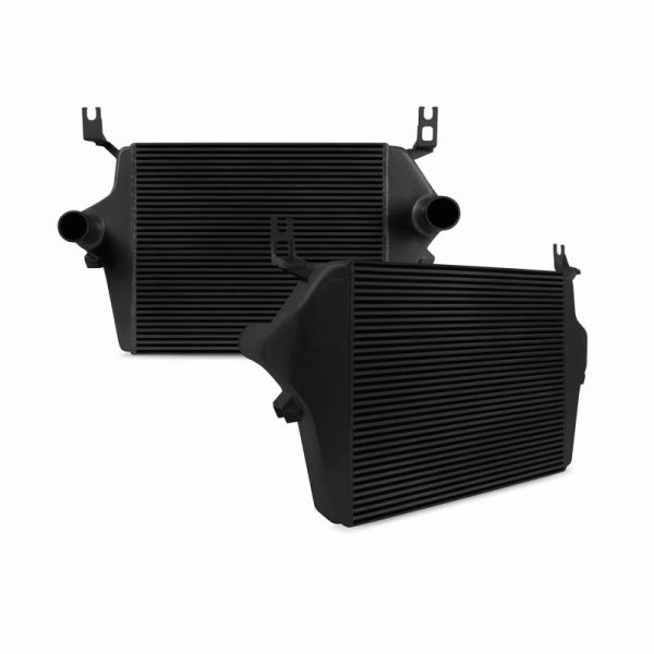 MISHIMOTO 6.0L POWER STROKE INTERCOOLER, BLACK OR SILVER, 2003–2007