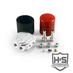 6.7L 2017 FORD H&S MOTORSPORTS FUEL FILTER CONVERSION KIT