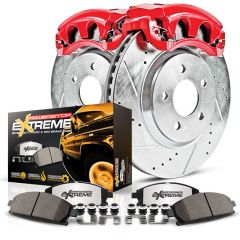 PowerStop Truck and Tow Z36 Front Brake Pad, Rotor and Caliper Kit 2005-2010 F-Series