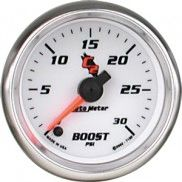AUTO METER C2 SERIES BOOST GAUGE 0-30 PSI