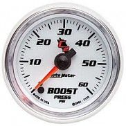 AUTO METER C2 SERIES BOOST GAUGE 0-60 PSI