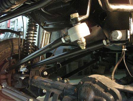 Precision Metal Fab 2005-2016 Ford F-250/350 PMF HD Solid Mount Adjustable Trackbar