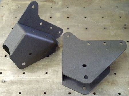"""Precision Metal Fab 2005-2016 Ford F-250/350 PMF 2.5"""" Replacement Drop Radius Arm Mounts"""