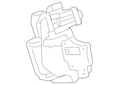 FORD PARTS 6.7L EGR VALVE (F-250/450 WIDE FRAME)