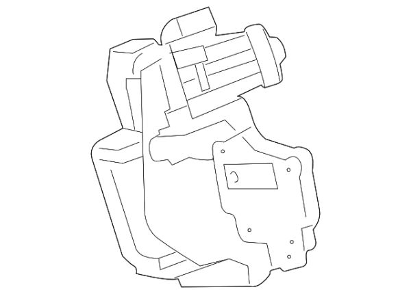 FORD PARTS 6.7L EGR VALVE (F-350/550 NARROW FRAME)
