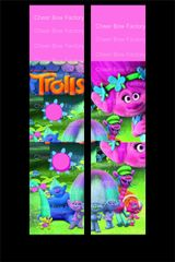 Trolls Cheer Bow Ready to Press Sublimation Graphic