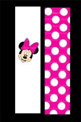 Minnie Mouse Pink Cheer Bow Ready to Press Sublimation Graphic
