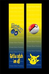 Pokemon Go Cheer Bow Ready to Press Sublimation Graphic