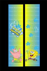 Spongebob Squarepants Cheer Bow Ready to Press Sublimation Graphic