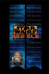 Star Wars Rebels Cheer Bow Ready to Press Sublimation Graphic