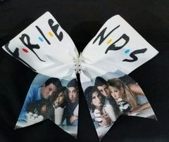 Friends Glitter Cheer Bow