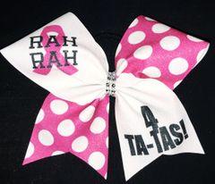 Rah Rah 4 Ta Ta's Breast Cancer Awareness Cheer Bow