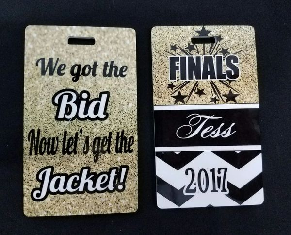 Finals Custom Personalized Bag Tag