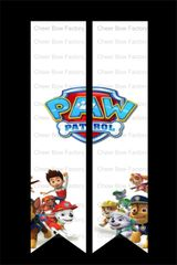 Paw Patrol Cheer Bow Ready to Press Sublimation Graphic