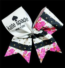 Kate Spade Inspired Glitter Cheer Bow