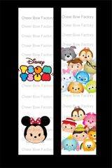 Tsum Tsum Cheer Bow Ready to Press Sublimation Graphic