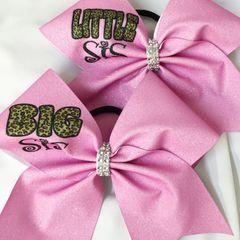 Big Sis / Little Sis Cheer Bows