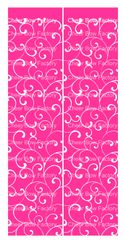 Trellis Hot Pink Cheer Bow Ready to Press Sublimation Graphic