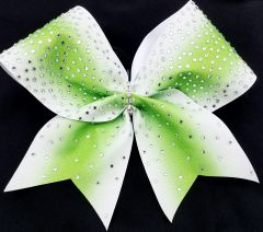 Excite Rhinestone Ombre Cheer Bow - all colors available
