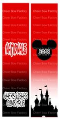 Nationals wishes come true Cheer Bow Ready to Press Sublimation Graphic