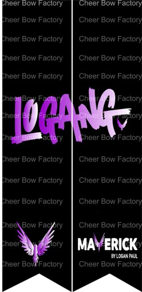 Logang Logan Paul Cheer Bow Ready to Press Sublimation Graphic