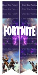Fortnite Cheer Bow Ready to Press Sublimation Graphic
