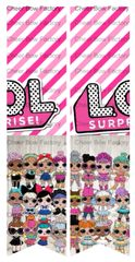 L.O.L. Surprise Cheer Bow Ready to Press Sublimation Graphic