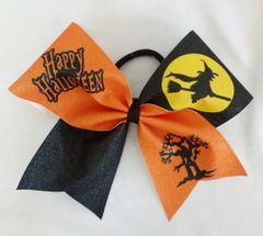 Halloween Witch Cheer Bow