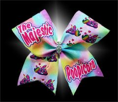 The Majestic Poopicorn Unicorn Poop Emoji Glitter Cheer Bow