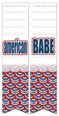 American Babe Ready to Press Sublimation Graphic
