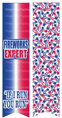 Fireworks Expert Ready to Press Sublimation Graphic