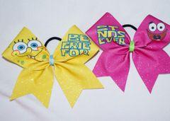 Spongebob & Patrick Best Friends Cheer Bows