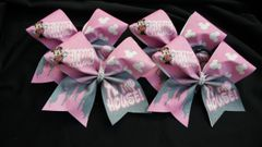Welcome To My House Minnie Castle Cheer Bow