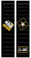 My Dad My Hero Army Ready to Press Sublimation Graphic