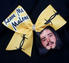 Leave Me Malone Cheer Bow