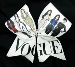 Kardashian Vogue Cheer Bow