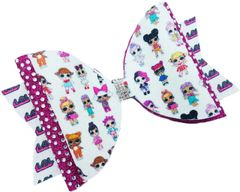 LOL Surprise Rhinestone & Glitter Dolly Style Cheer Bow