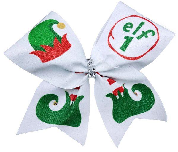 Elf 1 2 3 4 5.... Cheer Bow