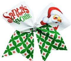 Santa's Favorite Cheer Bow