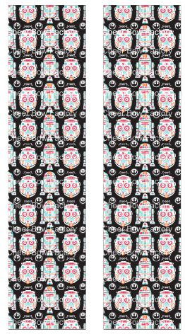 Star Wars Sugar Skulls Ready to Press Sublimation Graphic